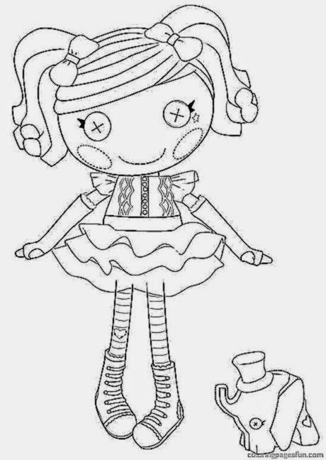 Lalaloopsy Coloring Pages Free Coloring Sheet Printable Lalaloopsy Coloring Pages