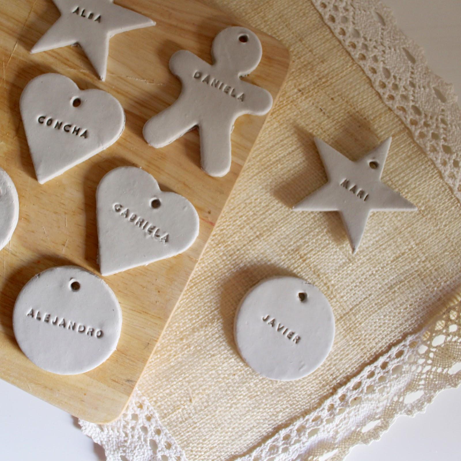 Nina designs parties adornos navide os personalizados - Pasta para modelar manualidades ...