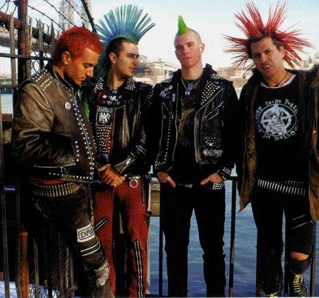 одежда панк фото