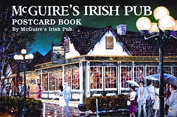 mcguires pub book of postcard book