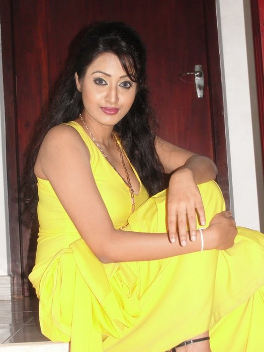 Kaushalya Madhavi  - Kaushalya Madhavi  Pics in Yellow Dress