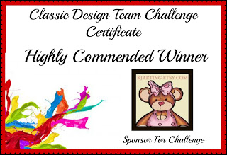 Highly Commended Winner with Classic DT Challenge