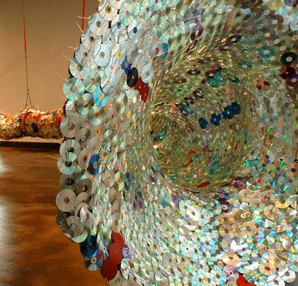 How to Recycle: Recycled CD's as an Art & Decor