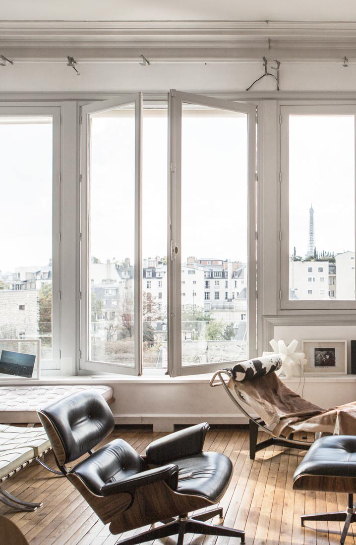 Parisian apartment via www.fashionedbylove.co.uk