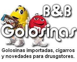 B & B Importación y distribución de golosinas y cigarros.