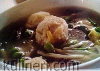 Resep Sop Jamur Bola Ayam Untuk Menu Buka Puasa Sahur dan Lebaran