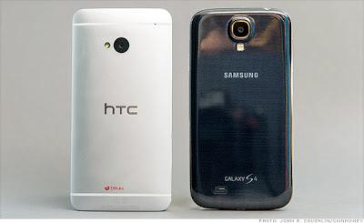 samsung+galaxy+s4+vs+htc+one+Design Samsung Galaxy S4 VS HTC One Comparison