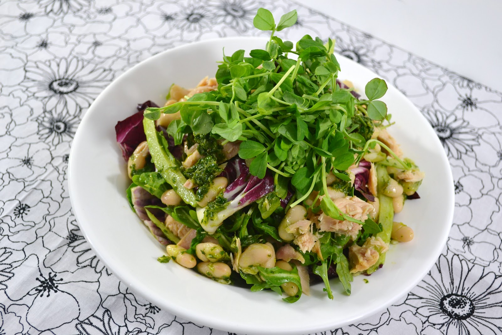 ... bean and tuna salad with white bean and tuna salad with white bean and