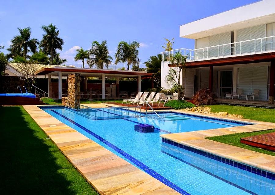 Inspira o casa com piscina mariana ara jo for Piscinas para casas