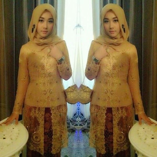kebaya wisuda hijab modern