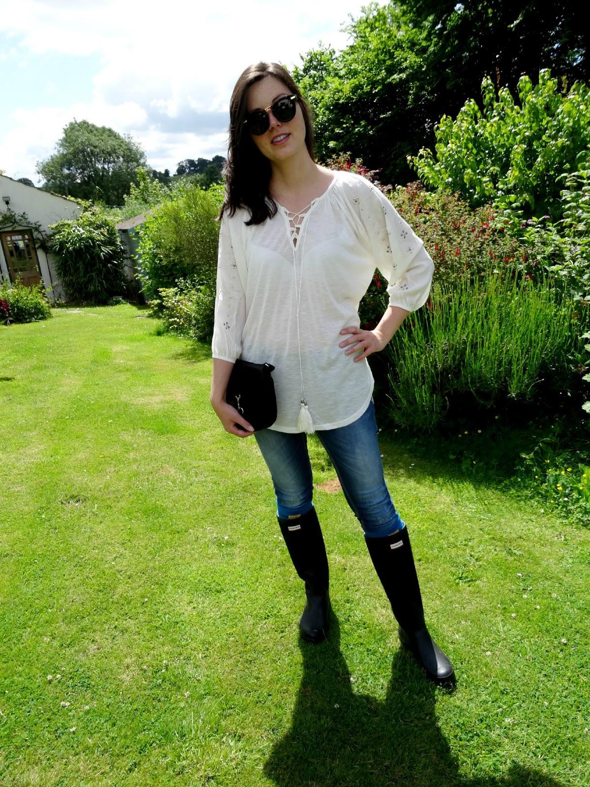 Blue Vanilla blouse review