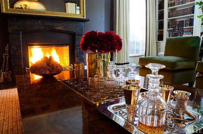 Mix And Chic Home Tour Aerin Lauder S Beautiful East