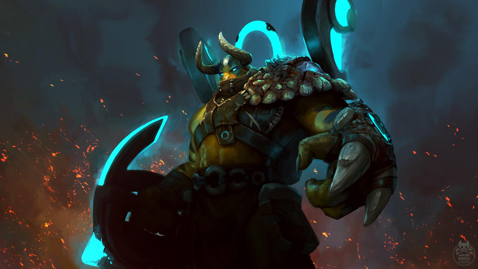 elder titan ancient one dota 2 wallpaper hd