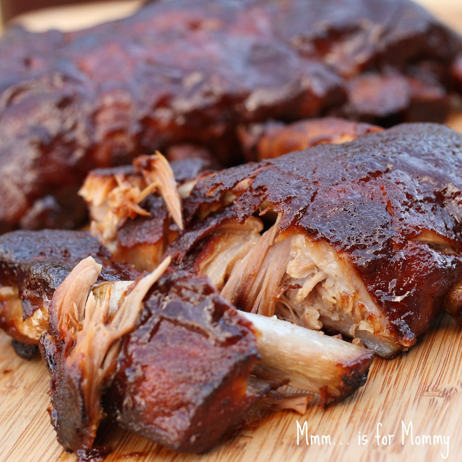 Easy Barbecued Ribs — Mmm… is for Mommy