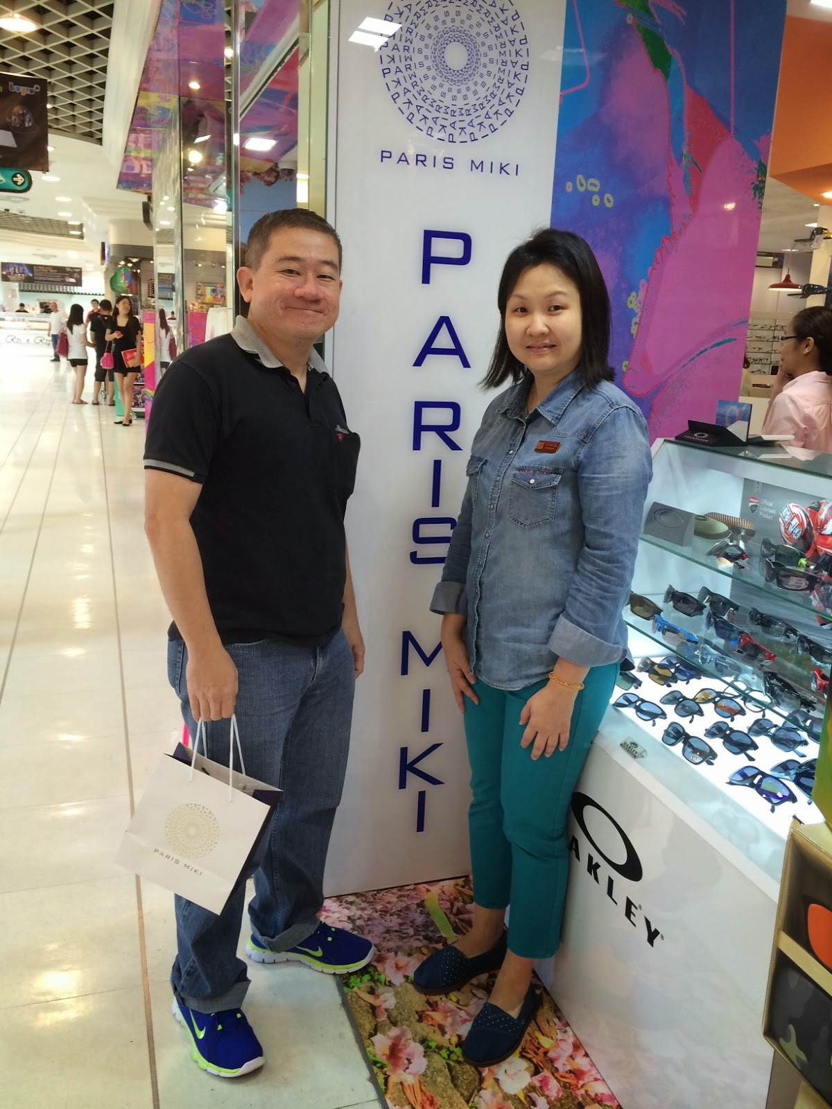 Coopervision multi-focal contact lenses at Paris Miki