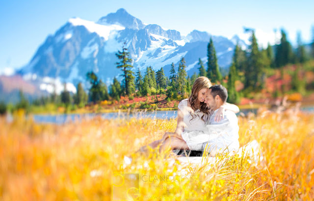 national park engagement photography