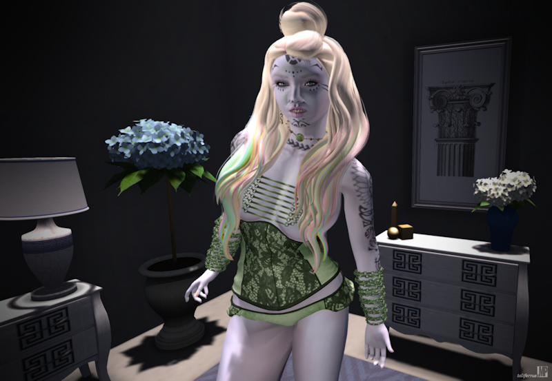 Second Life Roleplay Fashion Review