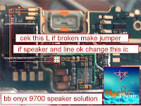 blackberry 9700 speaker solution