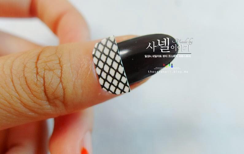 easy halloween nail art casper nail tutorial