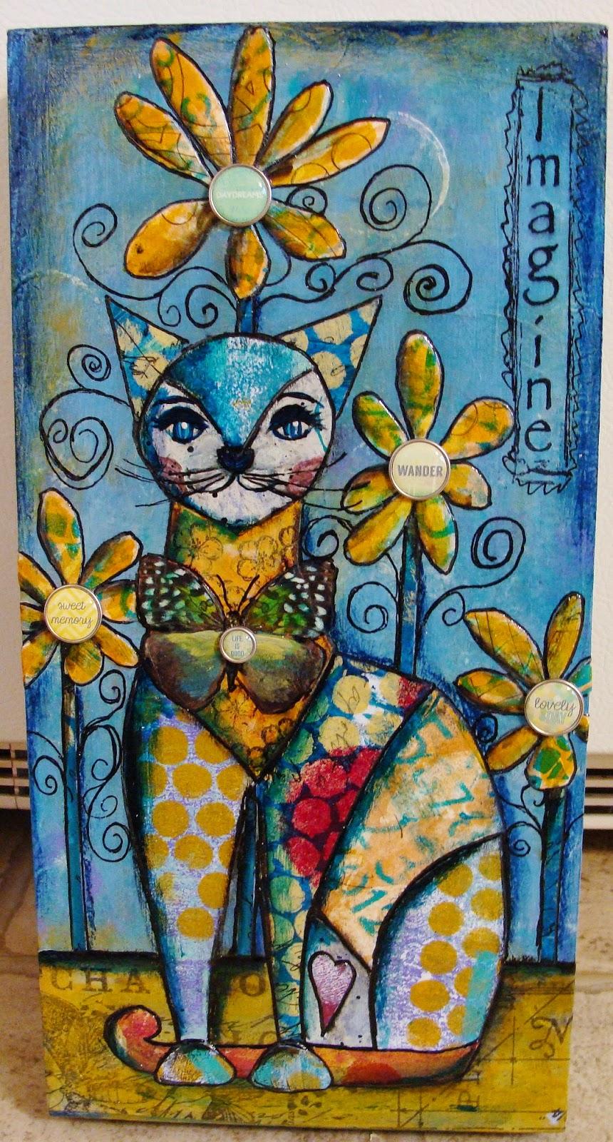 Art Journal Calendar Tutorial : My art journal a new step by tutorial for