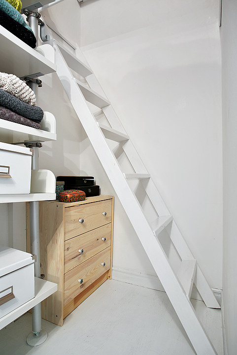 micro apartamento de estilo nórdico