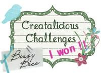 2 x Creatalicious Winner