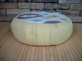 Meditation Cushions by etsyseller ZafuChi
