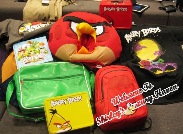 rovio angry birds children merchandise