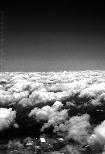 Black and White Photograph Clouds