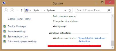 Mengaktifkan Windows 8 dengan KMSNano Terbaru