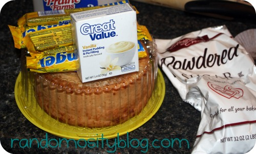 Butterfinger Cake With Angel Food Cake No Eggs