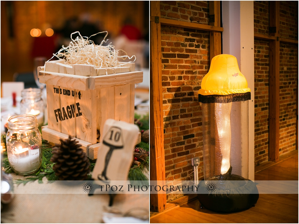 Christmas Story Wedding PHotos