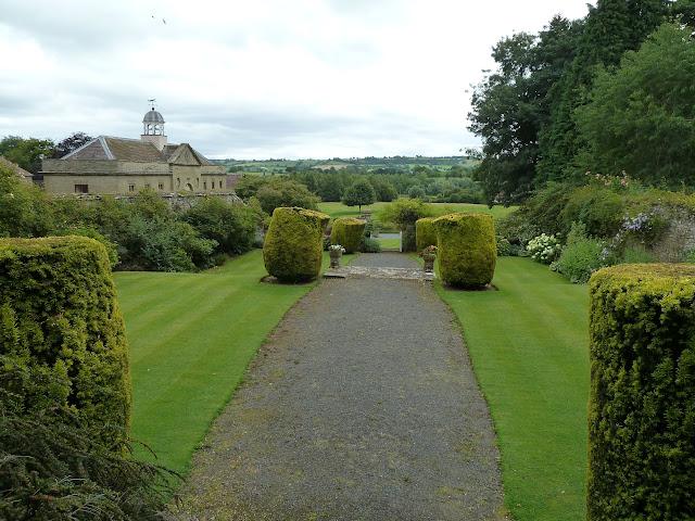 Shipton Hall  Gardens Much Wenlock Shropshire
