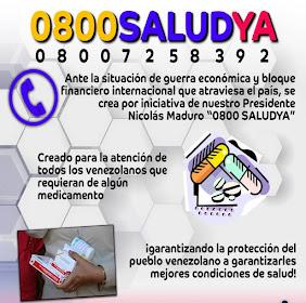 ¡HABLEMOS DEL 0800-SALUDYA!