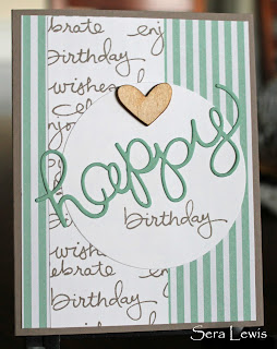 Stampin' Up! Endless Birthday Wishes makes this Taupe and Mint Macaron birthday card unique