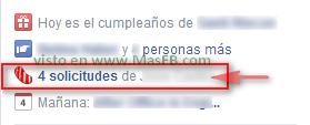 Solicitudes de Juegos en Facebook - MasFB