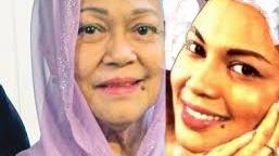 Seniwati Latifah Omar bertudung