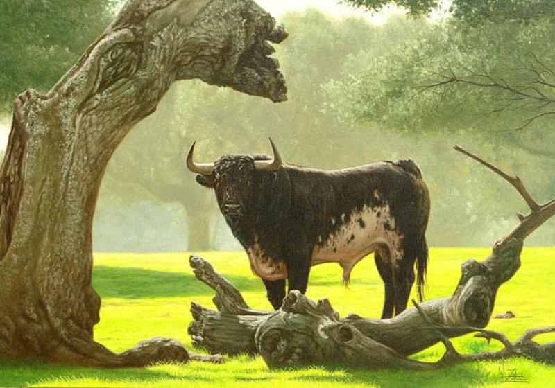 Paisajes y animales retratados alrededor del mundo Cromo