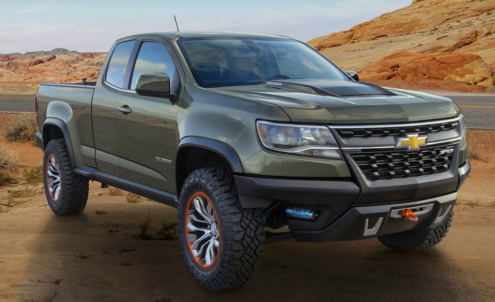 Okay i don t know if chevrolet will build this amazing colorado concept but they should chevy s mid size colorado pickup is the perfect starting point
