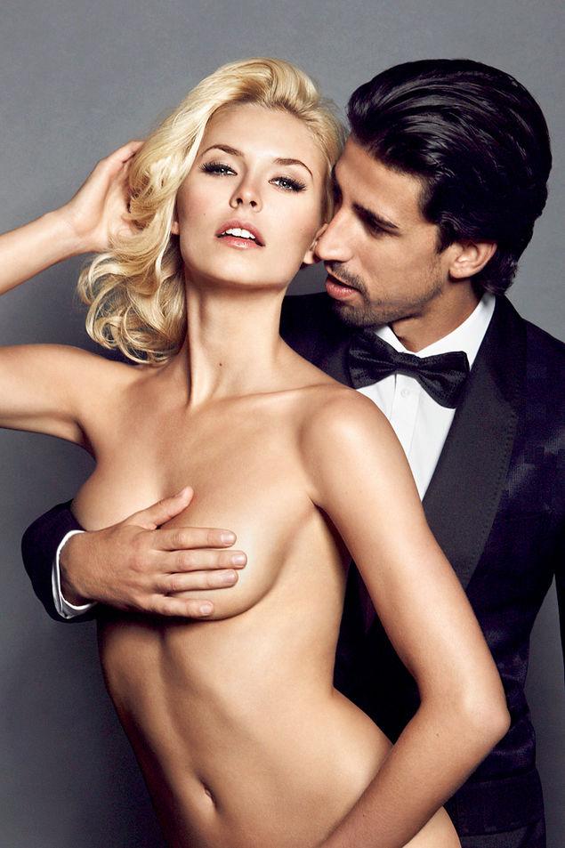 semi nude couple sex