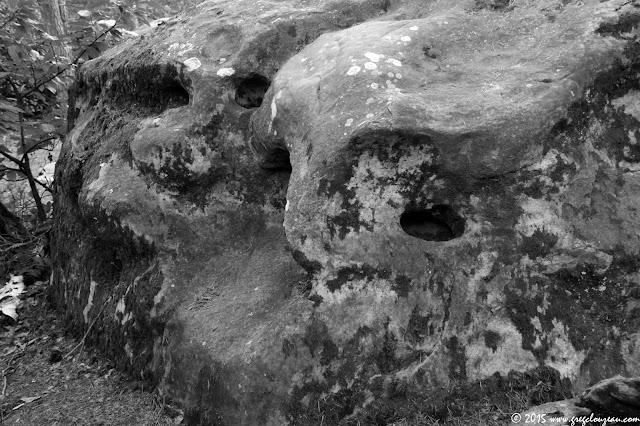 Visages de pierre, Rocher de la Saussaie, Trois Pignons, (C) 2015 Greg Clouzeau