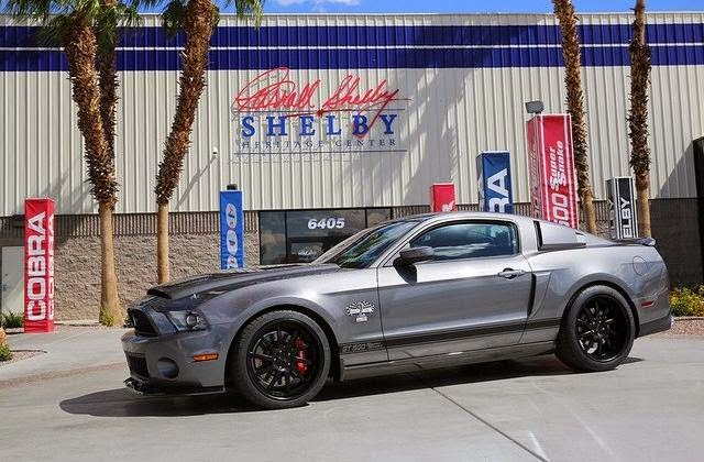 Shelby GT500 Signature Edition Super Snake (2014) Front Side