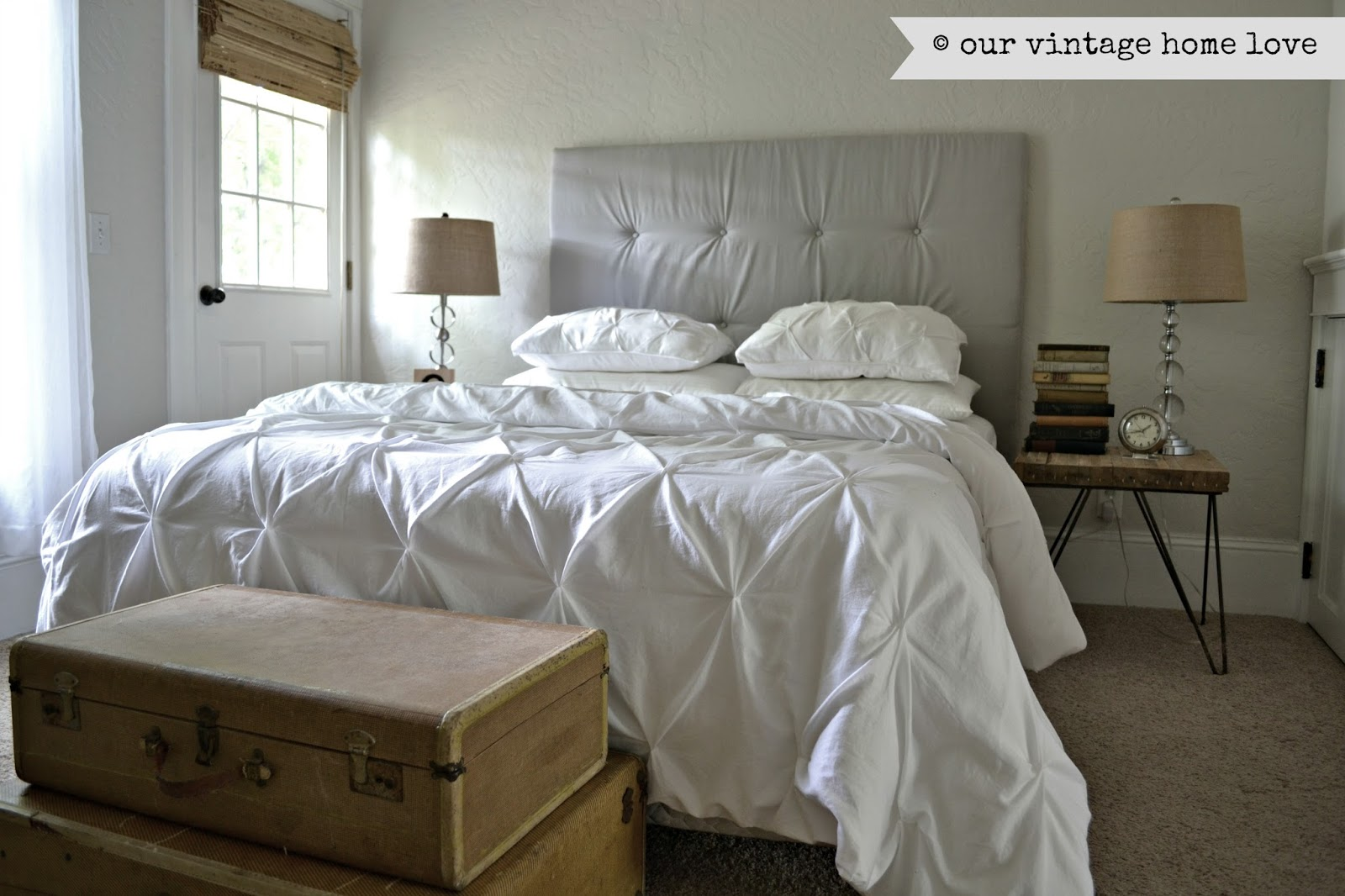 our vintage home love: Master Bedroom