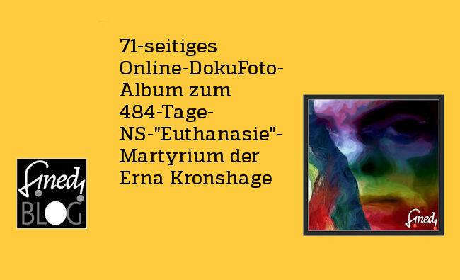 71-seitiges Doku Foto-Album Erna Kronshage