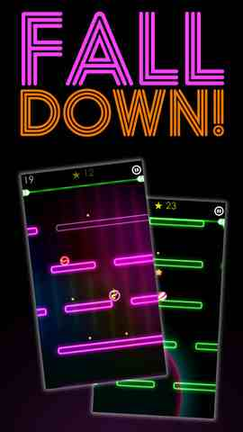 FallDown! 2, iPhone Action Game  Arcade Gamess Free Download, iPhone Applications