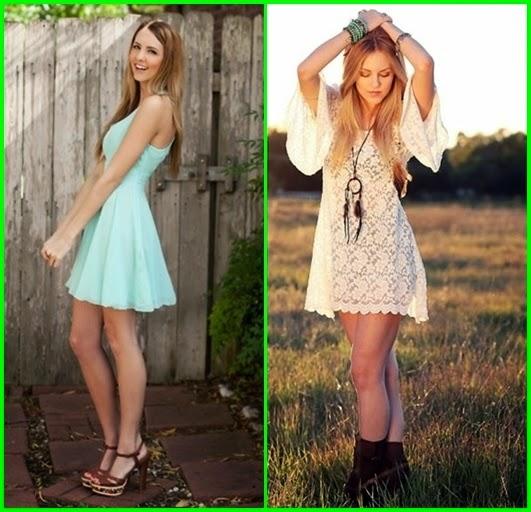 Romantische Kleider für den Sommer 2015