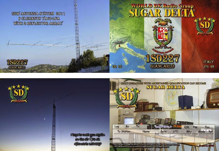 ..................................................SPECIAL DOUBLE QSL FROM ALESSANDRIA PROVINCE