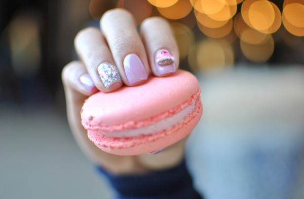 cupcake nail art