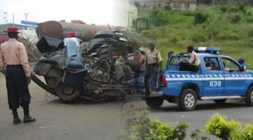 So SAD!! 5 Dead As Bus Plunges Into Oji River In Anambra State Today