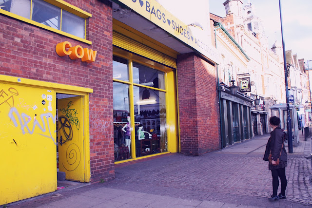 Cow Vintage Shop Digbeth Birmingham